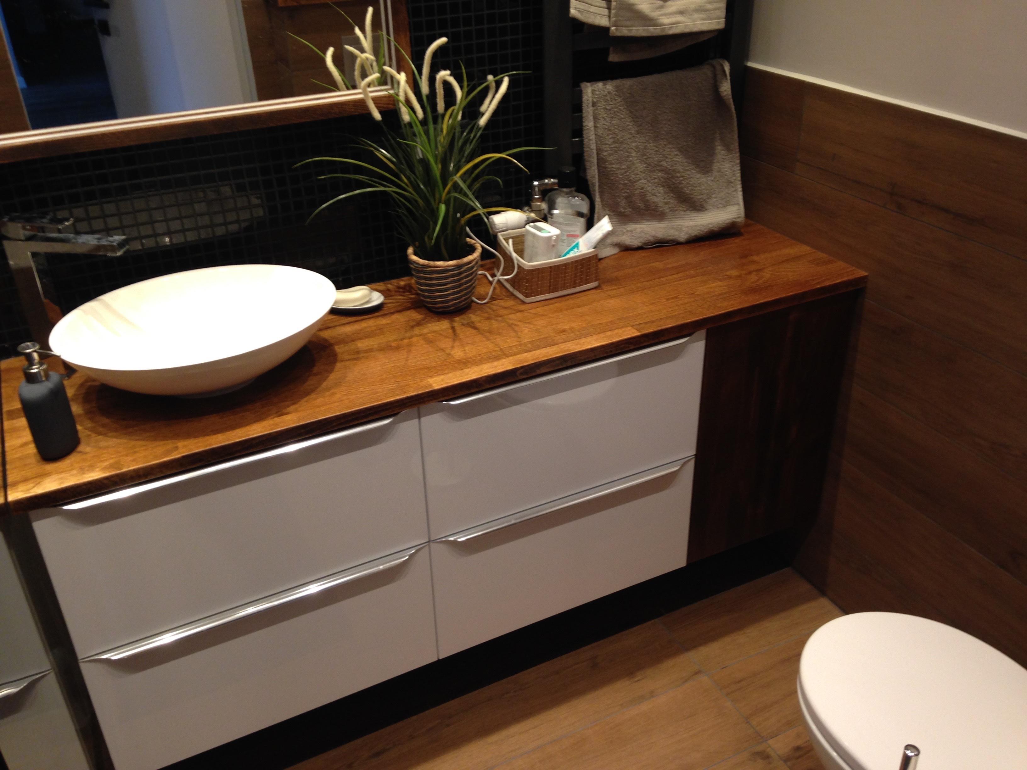 Drewniane Meble łazienkowe Pracownia Mebli I Wnętrz Onlyhome